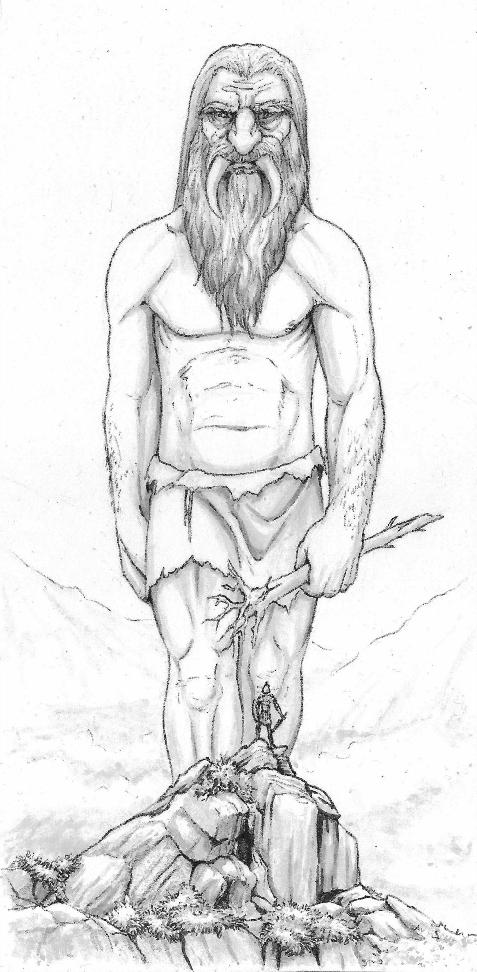 Tusked giant