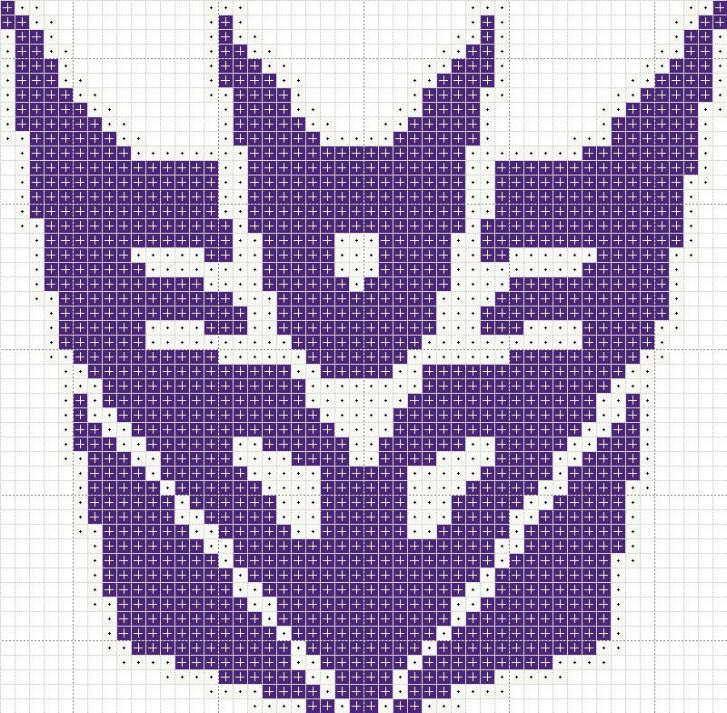 Decepticon cross stitch pattern by Zaraphena