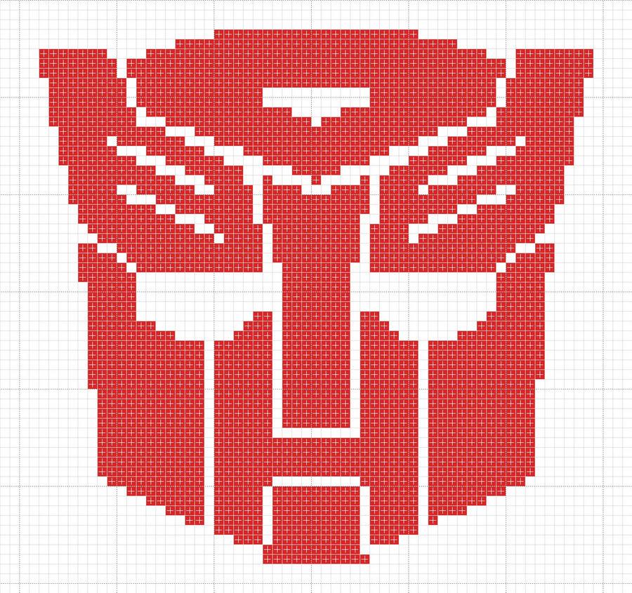 Autobot logo pattern by Zaraphena
