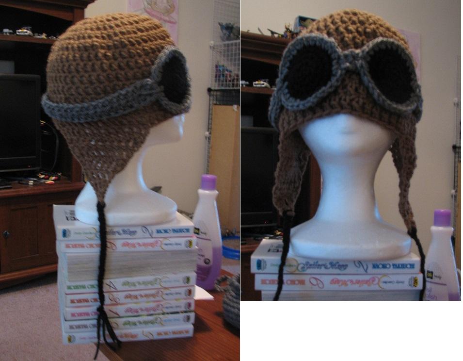 Aviator Hat by Zaraphena