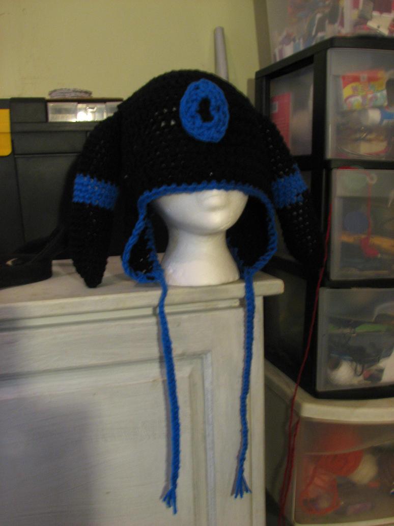 Shiny Umbreon Hat by Zaraphena