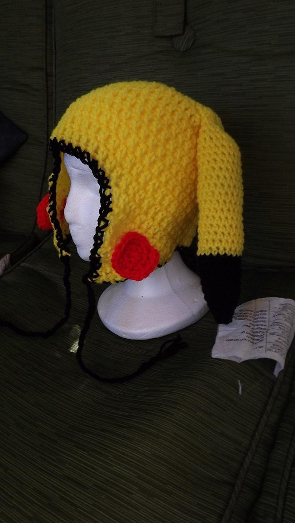 Pikachu Hat Commission by Zaraphena