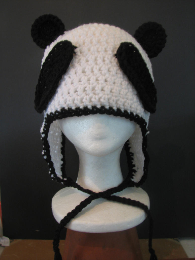 Panda Hat by Zaraphena