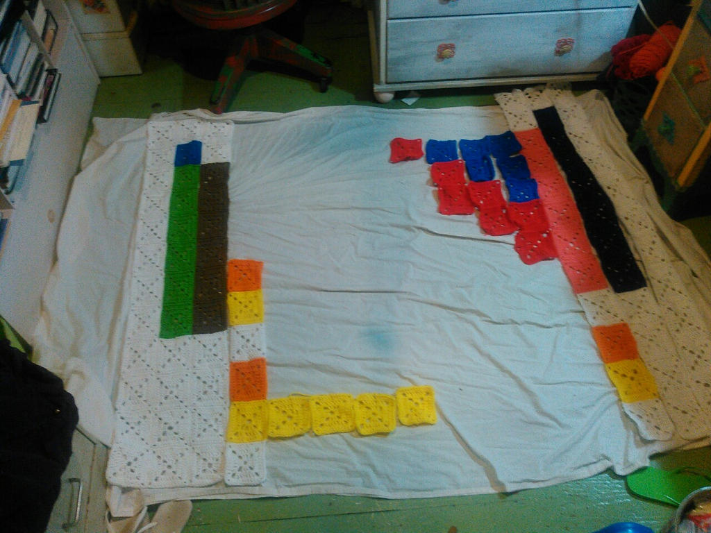 Periodic Blanket of the Elements W.I.P. 2 by Zaraphena