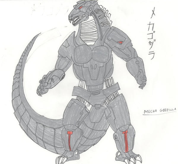 G Chronicles MECHAGODZILLA by megagirus07