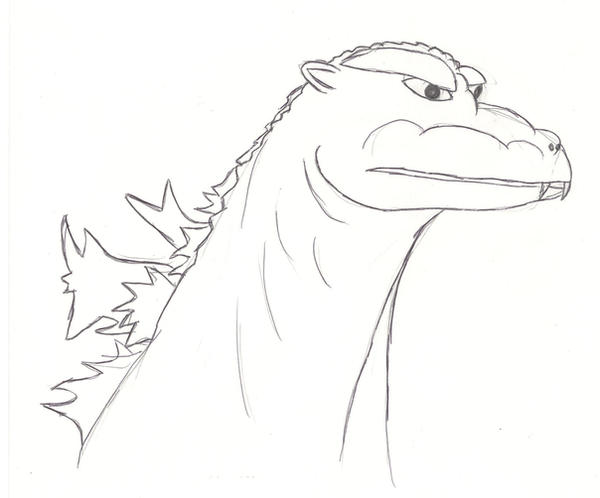 Dibujos Godzilla Raids Again 1955 Para Colorear: Godzilla 1955 By Megagirus07 On DeviantArt