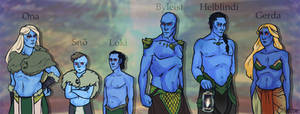 Frost Giants by Ohdotar