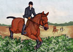 St George's Day - Harpley Hunt by Ohdotar