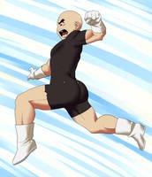 Kuririn Battle Suit outfit by Van-Brand-Artworks