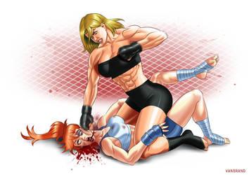 Sophia Argantael x Goliath - Brutal Ground'n'pound