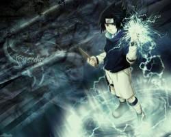 Blazing Sasuke by Blueblazer52