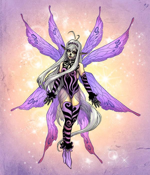 Skull Fairy by Novanim