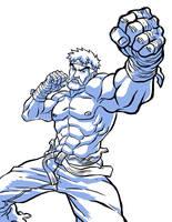 Bearded Ryu by Novanim