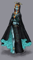 Twilight Princess Midna by Novanim
