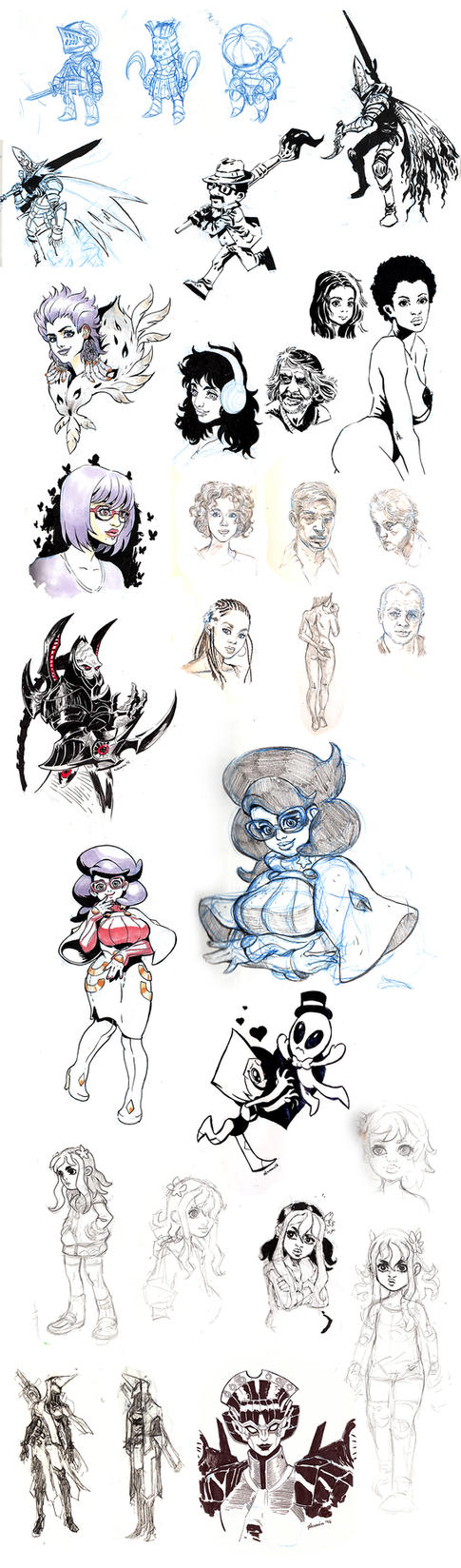 Sketch Collection by Novanim