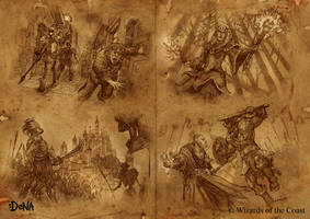 Dungeons and Dragons Arena of War Map by Novanim