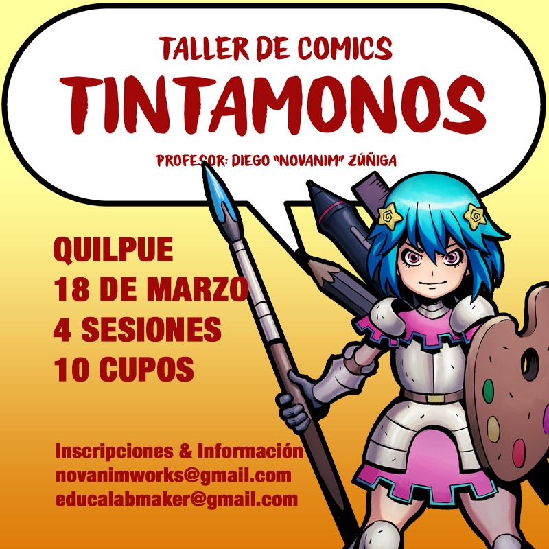 TINTAMONOS: Comic Workshop by Novanim