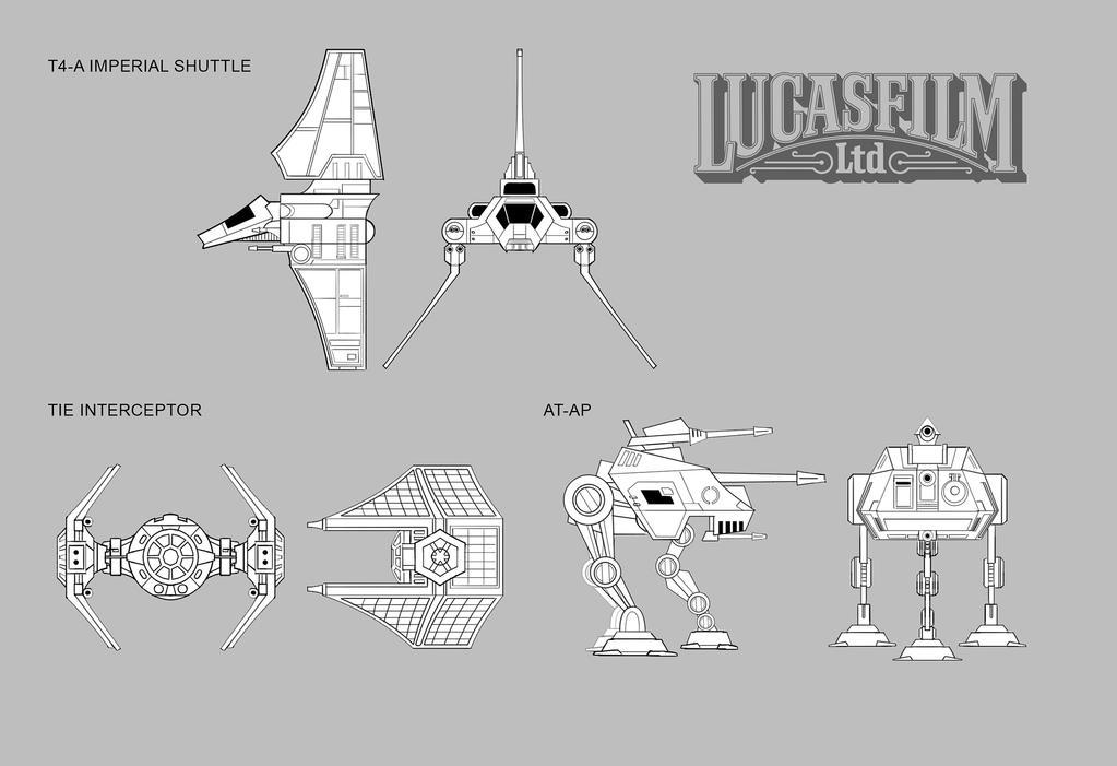 Star Wars Galactic Defense- Vehicle Concepts by Novanim
