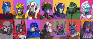 Transformers Portraits