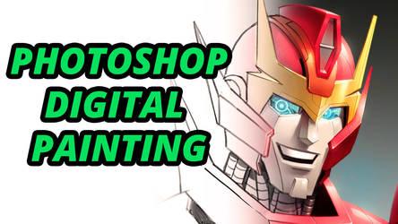 Digital Painting Video by Novanim