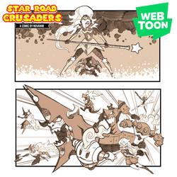 Star Road Crusaders - Now on Webtoon by Novanim