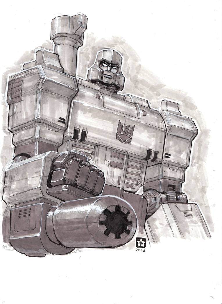 G1 Megatron by Novanim