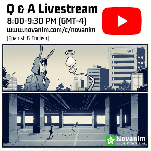 Q-A Livestream Announcement April 30th by Novanim
