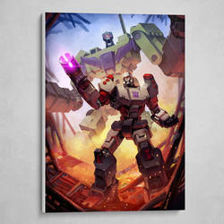 Megatron Poster. Available now!
