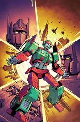 Transformers 31 War World-Lord of Misrule- Cover