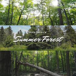 Summer Forest Photopack