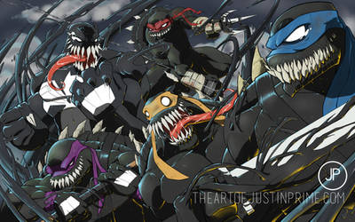 TMNT Symbiotes 2.0 by justinprime