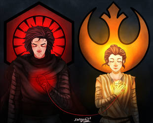 Reylo choose your side by sango691