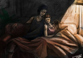 Kylo And Rey  by sango691