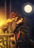 Romeo And Juliette  alias Kylo and Rey by sango691