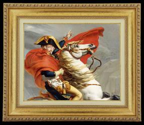 parodie-Erwin-et-Napoleon by sango691