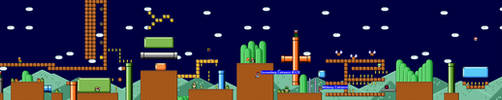 SMW Revisited - Grasslands 1 by skateboarder11