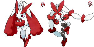 Shiny Redo: #428 Lopunny + Mega Lopunny