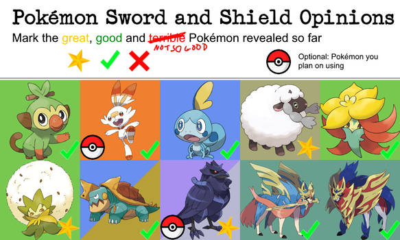 My Opinion Meme Pokemon Sword And Shield By Skydraofthegoddesses On