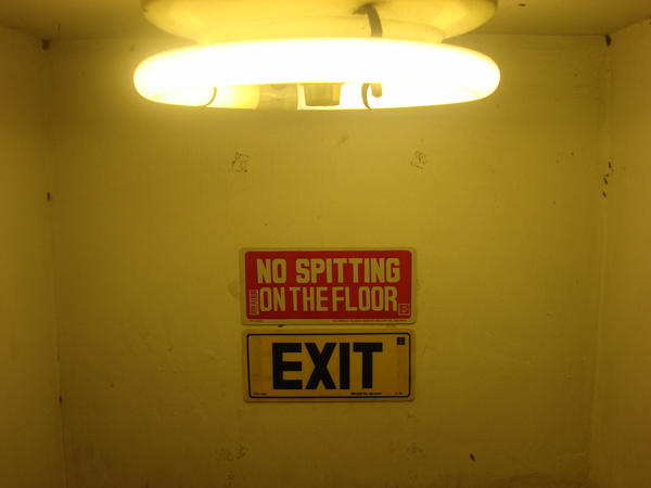 No spitting on the floor by shesraia