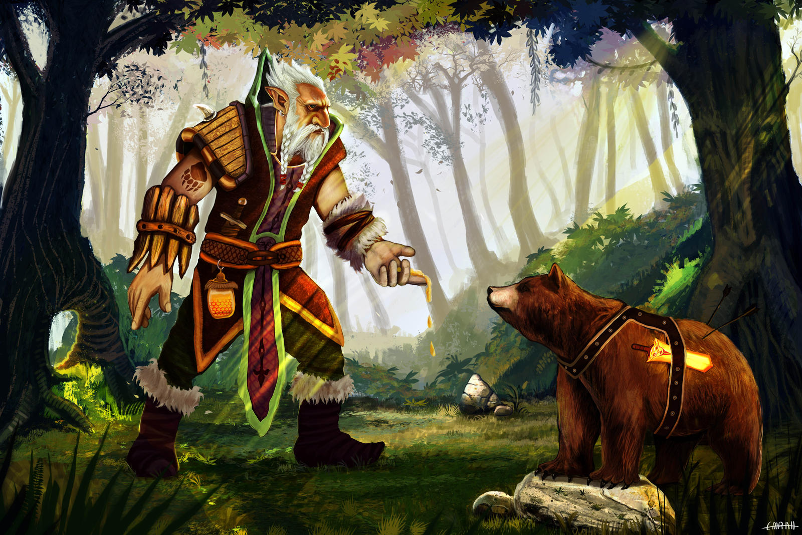 dota 2 lone druid by emrahx on deviantart