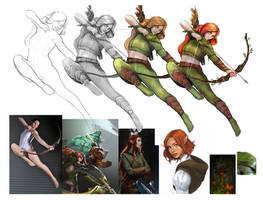windranger references by emrahx