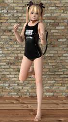 Marie Rose Swimsuit Cat