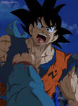 Dragon Ball Super Manga 62 Goku crossed by Moro