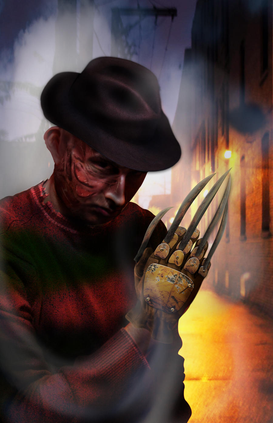 Me as Freddy by estkm