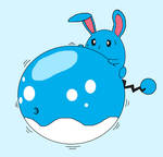 Azumarill Belly Inflation
