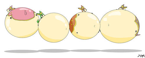 Deerling Balloons! by JigglypuffMaster