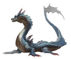 Lagiacrus - Monster Hunter by nin-mario64