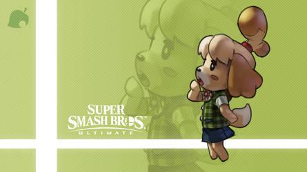 Super Smash Bros. Ultimate - Isabelle by nin-mario64