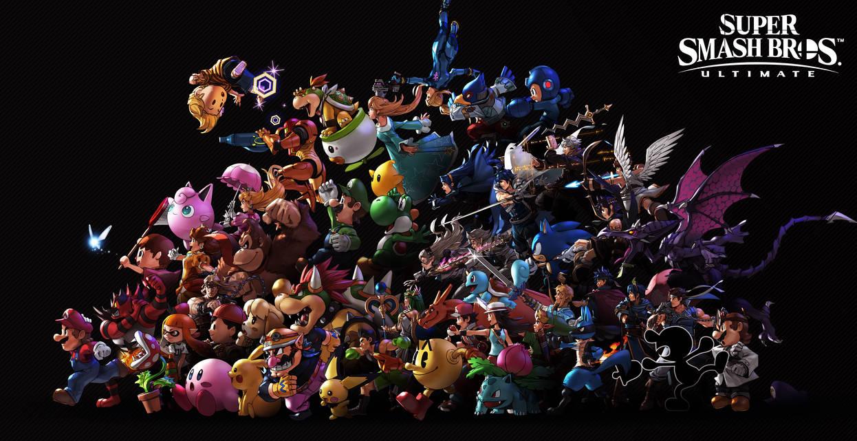 Super Smash Bros. Ultimate V3 by nin-mario64