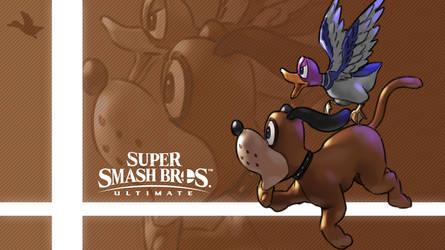 Super Smash Bros. Ultimate - Duck Hunt by nin-mario64
